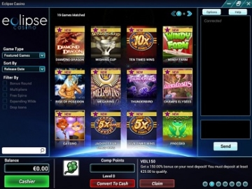 eclipse casino games usa