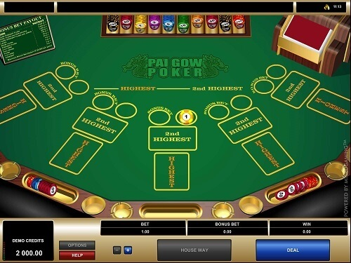 how to play pai gow and win