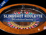 Live Slingshot Auto Roulette Game