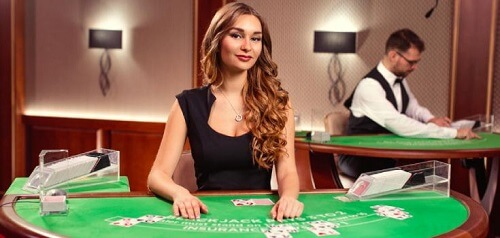 Diamond VIP Blackjack casino game online