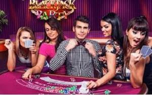 Live Dealer Blackjack Party game