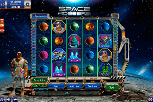 space themed slots