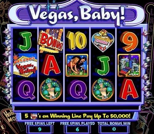 vegas baby slot game
