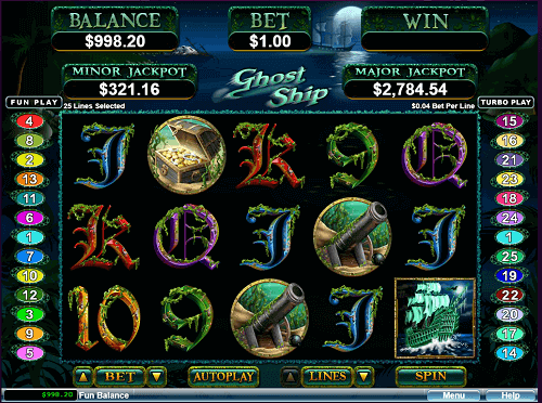 ghost ship slot game review