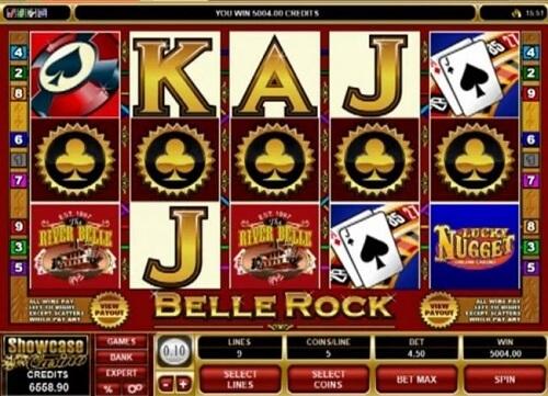belle-rock online slot game